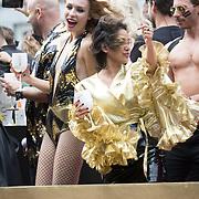 NLD/Amsterdam//20170805 - Gay Pride 2017, Loiza Lamers