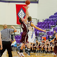 01-19-15 Berryville Jr. High Boys vs. Huntsville