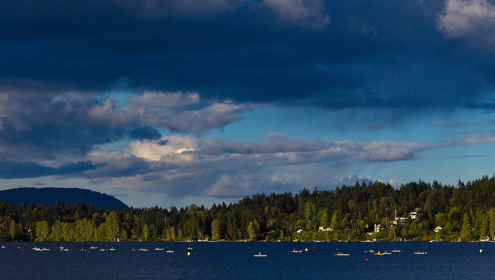Shawnigan Lake School Rowing Regatta May, 2014. Photograph by: KEVIN LIGHT.