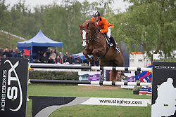 Bles Bart (NED) - Lord Sandro DDH <br /> Furusiyya FEI Nations Cup<br /> Longines Spring Classic of Flanders<br /> CSIO5 Jumping Lummen 2014<br /> © Dirk Caremans
