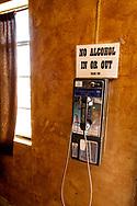 Marfa, Texas, Lost Horse Saloon, pay telephone