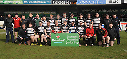 Ballinrobe RFC Connacht Junior Plate Winners.<br />