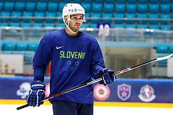 Bostjan Golicic at ice hockey practice one day before at IIHF World Championship DIV. I Group A Kazakhstan 2019, on April 28, 2019 in Barys Arena, Nur-Sultan, Kazakhstan. Photo by Matic Klansek Velej / Sportida