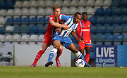 Chris O'Grady during the Pre-Season Friendly match between Gillingham and Brighton and Hove Albion at the MEMS Priestfield Stadium, Gillingham, England on 29 July 2015.