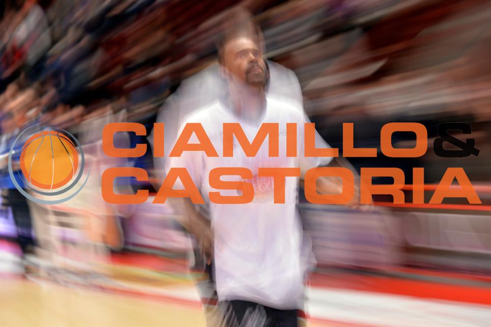Joshua Bostic<br /> The FlexX Pistoia Basket - Pasta Reggia Juve Caserta<br /> Lega Basket Serie A 2016/2017<br /> Pistoia, 13/02/2017<br /> Foto Ciamillo-Castoria