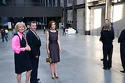 Vicente Todoli; Crown Princess Mary of Denmark; Per Kirkeby Opening Reception and Dinner. Tate Modern. 16 June 2009.
