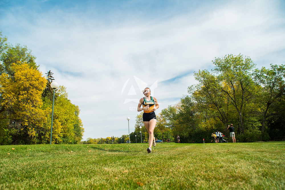 Adriana Davis competes during the annual Cougar Trot on September 17 at Douglas Park. Credit: Arthur Ward/Arthur Images