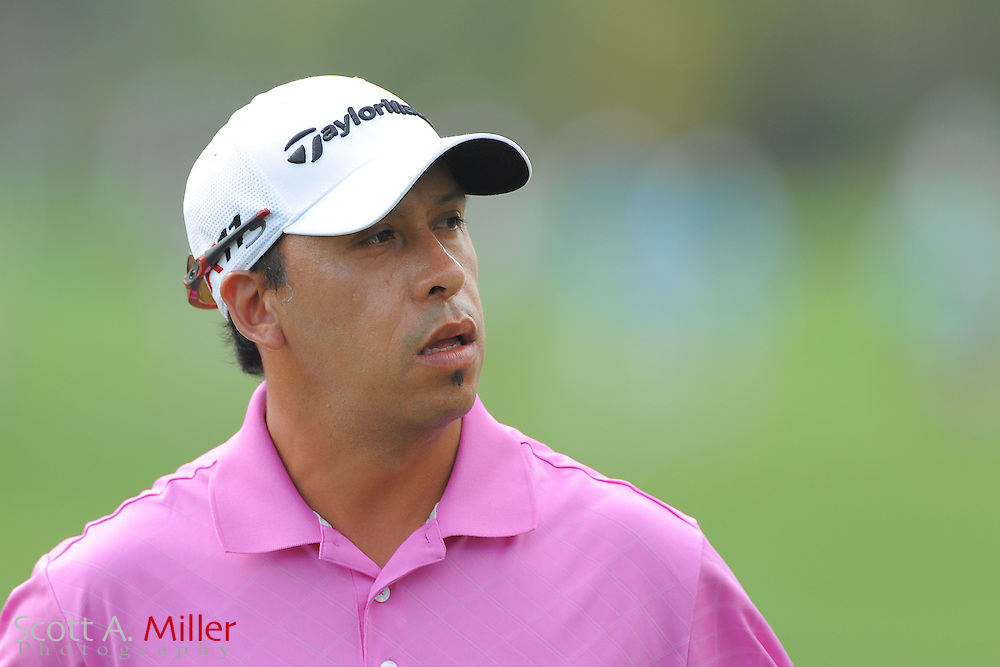 Miguel Carballo during the first round of the Honda Classic at PGA National on March 1, 2012 in Palm Beach Gardens, Fla. ..©2012 Scott A. Miller.