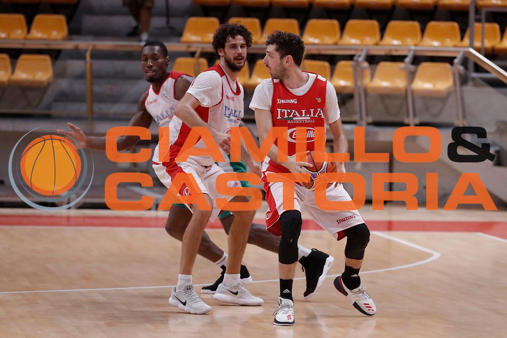 Della Valle Amedeo<br /> Nazionale Senior maschile<br /> Allenamento<br /> World Qualifying Round 2019<br /> Bologna 12/09/2018<br /> Foto  Ciamillo-Castoria / Giuliociamillo