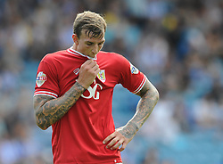 Aden Flint of Bristol City cuts a dejected figure - Mandatory byline: Dougie Allward/JMP - 07966386802 - 08/08/2015 - FOOTBALL - Hillsborough Stadium -Sheffield,England - Sheffield Wednesday v Bristol City - Sky Bet Championship