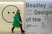 The Beazley Desins area - The Design Museum has moved to Kensington High Street from its former home as an established London landmark on the banks of the river Thames.  The new museum will be devoted to contemporary design and architecture, an international showcase for the many design skills at which Britain excels and a creative centre, promoting innovation and nurturing the next generation of design talent. His Royal Highness toured the museum to view the transformation of a modernist building from the 1960s, which was the former Commonwealth Institute.  17  November 2016, London.