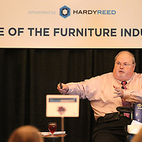Thomas Wells | BUY at PHOTOS.DJOURNAL.COM<br /> Jerry Epperson describes the pas, present and what he see sees the future of the furniture industry on Thursday.