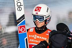 February 24, 2019 - Innsbruck, AUSTRIA - 190224 Halvor Egner Granerud of Norway competes in ski jumping team large hill during the FIS Nordic World Ski Championships on February 24, 2019 in Innsbruck..Photo: Joel Marklund / BILDBYRÃ…N / kod JM / 87890 (Credit Image: © Joel Marklund/Bildbyran via ZUMA Press)