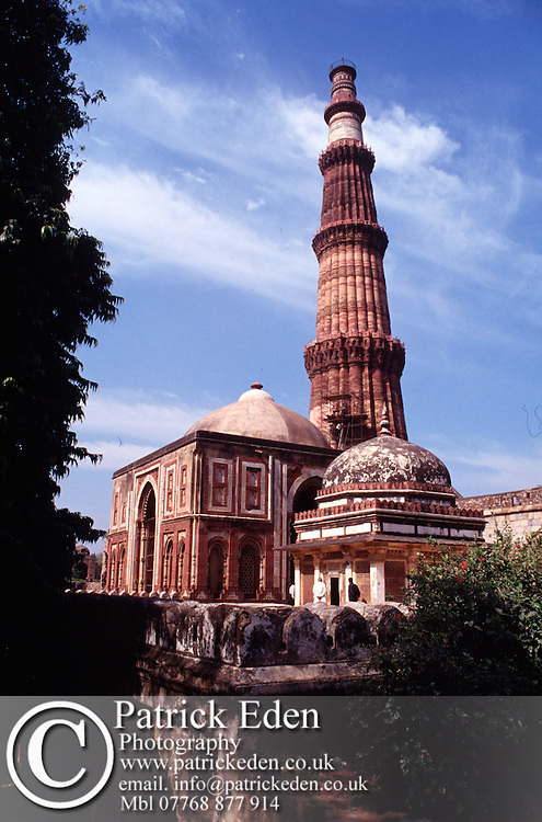 Qutab Minar Delhi India © Patrick Eden