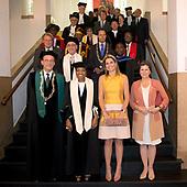 Koningin Maxima bij oratie hoogleraar Prins Claus Leerstoel