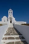 The Chrysopiyi Monastery, Sifnos, The Cyclades, Greek Islands, Greece, Europe