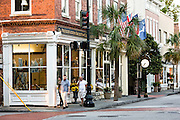 Preservation Society of Charleston shop along King Street in historic Charleston, SC.