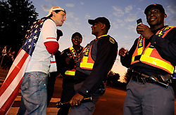 12.06.2010, Royal Bafokeng Stadium, Rustenburg, RSA, FIFA WM 2010, England (ENG) vs USA (USA), im Bild Tifosi - supporters. Inghilterra. EXPA Pictures © 2010, PhotoCredit: EXPA/ InsideFoto/ Giorgio Perottino / SPORTIDA PHOTO AGENCY