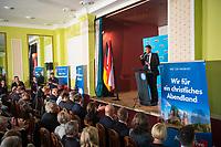 DEU, Deutschland, Germany, Hönow bei Berlin, 09.09.2017: Thüringens AfD-Chef Björn Höcke bei einer Wahlveranstaltung der Partei Alternative für Deutschland (AfD) im Restaurant Mittelpunkt der Erde.