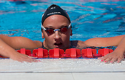 Nika Karlina Petric of Slovenia during the Women's 4x 200m Freestyle Heats during the 13th FINA World Championships Roma 2009, on July 29, 2009, at the Stadio del Nuoto,  in Foro Italico, Rome, Italy. (Photo by Vid Ponikvar / Sportida)