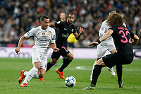 Real Madrid´s Lucas Vazquez during Champions League soccer match between Real Madrid  and Paris Saint Germain at Santiago Bernabeu stadium in Madrid, Spain. November 03, 2015. (ALTERPHOTOS/Victor Blanco)