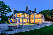 Originally constructed by famed architect Stanford White, the home was renovated and enlarged by builder Jeffrey Collé , Briar Patch Rd, East Hampton, NY