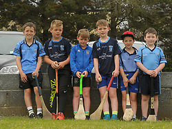 Taking in the Feile hurling matches in Westport were <br />