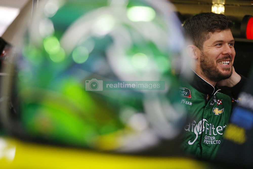 November 16, 2018 - Homestead, Florida, U.S. - Ryan Truex (11) hangs out in the garage during practice for the Ford 300 at Homestead-Miami Speedway in Homestead, Florida. (Credit Image: © Chris Owens Asp Inc/ASP)