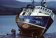 Dingle peninsula. Dingle, small fishermen shipyard
