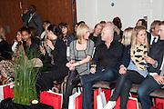 RENEE O'BRIEN; ROSS KEMP, Stephane St. Jaymes Spring Summer 2011 fashion show.<br /> The Westbury Mayfair, Bond Street, London,DO NOT ARCHIVE-© Copyright Photograph by Dafydd Jones. 248 Clapham Rd. London SW9 0PZ. Tel 0207 820 0771. www.dafjones.com.