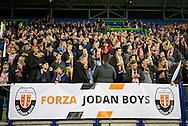 ARNHEM, Vitesse - Jodan Boys, voetbal, KNVB Beker, seizoen 2016-2017, 14-12-2016, Stadion De Gelredome, er zijn 2500 supporters van Jodan Boys in het stadion.