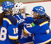 John Abbott College Lady Islanders  College Hockey Team versus Dawson College
