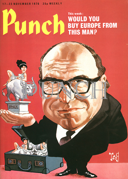 Punch (Front cover, 17 November 1976)