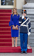 The Hague , 19-05-2017 <br /> <br /> King Willem-Alexander and Queen Maxima met president Filipe Nyusi  of Mozambique<br /> <br /> <br /> COPYRIGHT: ROYALPORTRAITS EUROPE/ BERNARD RUEBSAMEN