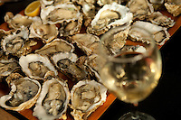 Slowfood Oyster Festival in honor of Brillat Savarin - photograph by Owen Franken..
