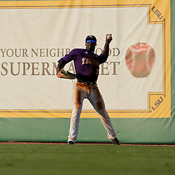 06 June 2009:  Jared Mitchell (3) of LSU in action during a 5-3 victory by the LSU Tigers over the Rice Owls in game two of the NCAA baseball College World Series, Super Regional played at Alex Box Stadium in Baton Rouge, Louisiana. The Tigers with the win advance to next week's College Baseball World Series in Omaha, Nebraska.