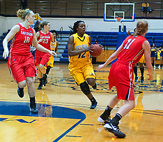 2013-14 A&T Women's B-Ball vs Davidson
