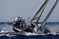 07_011651 © Sander van der Borch. Porto Cervo - ITALY,  25 September 2007 . TP52 Worlds in Porto Cervo (23/29 September 2007). Race 3,4 & 5.