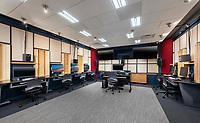Architectural Interior image of Peabody Institute Sound Lab in Baltimore MD
