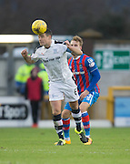 Dundee's Darren O'Dea heads clear - Inverness Caledonian Thistle v Dundee in the Ladbrokes Scottish Premiership at Caledonian Stadium, Inverness.Photo: David Young<br /> <br />  - © David Young - www.davidyoungphoto.co.uk - email: davidyoungphoto@gmail.com