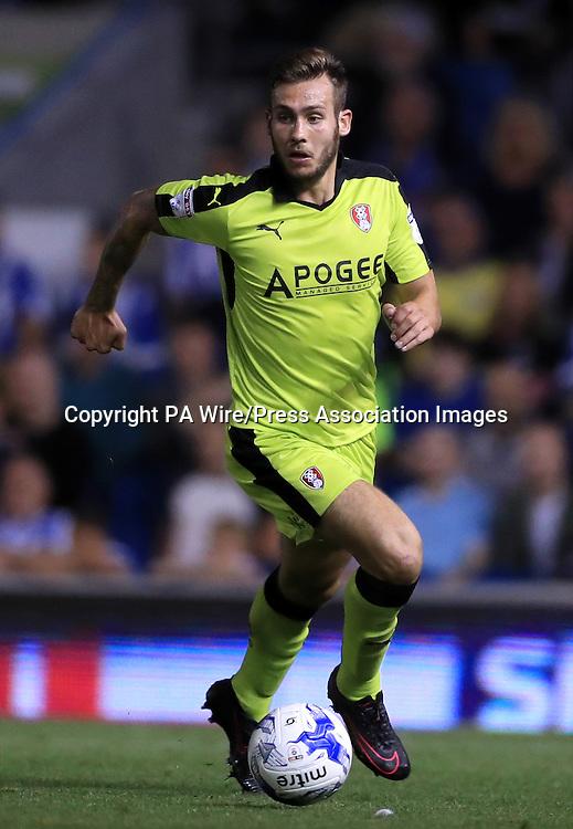 Rotherham United's Joe Mattock