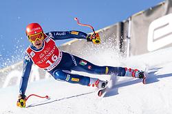 24.01.2020, Streif, Kitzbühel, AUT, FIS Weltcup Ski Alpin, SuperG, Herren, im Bild Christof Innerhofer (ITA) // Christof Innerhofer of Italy in action during his run for the men's SuperG of FIS Ski Alpine World Cup at the Streif in Kitzbühel, Austria on 2020/01/24. EXPA Pictures © 2020, PhotoCredit: EXPA/ Johann Groder
