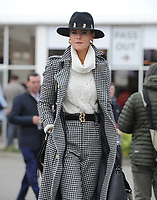 National Hunt Horse Racing - 2020 Cheltenham Festival - Wednesday, Day Two (Ladies Day)<br /> <br /> Ladies fashion, at Cheltenham Racecourse.<br /> <br /> COLORSPORT/ANDREW COWIE