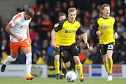 Burton Albion midfielder Jamie Allen on the ball during the EFL Sky Bet League 1 match between Burton Albion and Luton Town at the Pirelli Stadium, Burton upon Trent, England on 27 April 2019.