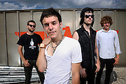 The Frantic photographed backstage on Warped Tour, July 5, 2010