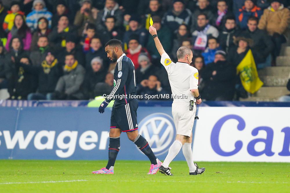 Alexandre LACAZETTE / Lionel JAFFREDO  - 20.01.2015 - Nantes / Lyon  - Coupe de France 2014/2015<br /> Photo : Vincent Michel / Icon Sport