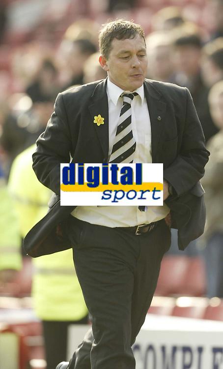 Photo: Aidan Ellis.<br /> Barnsley v Derby County. Coca Cola Championship. 31/03/2007.<br /> Derby's Billy Davis
