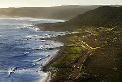 September 30, 2018 - South Africa - Road in Cape of Good Hope in sunset, South Africa, Western Cape, Cape of Good Hope National Park (Credit Image: © Sergi Reboredo/ZUMA Wire)