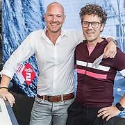 NLD/Hilversum/20170915 - Nationale actiedag Nederland helpt Sint Maarten, Paul Rabbering en Wouter van der Goes