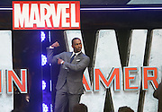 April 26, 2016 -Anthony Mackie attending 'Captain America: Civil War' European Film Premiere at Vue Westfield in London, UK.<br /> ©Exclusivepix Media